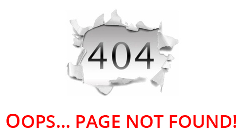 Page not Found!!!